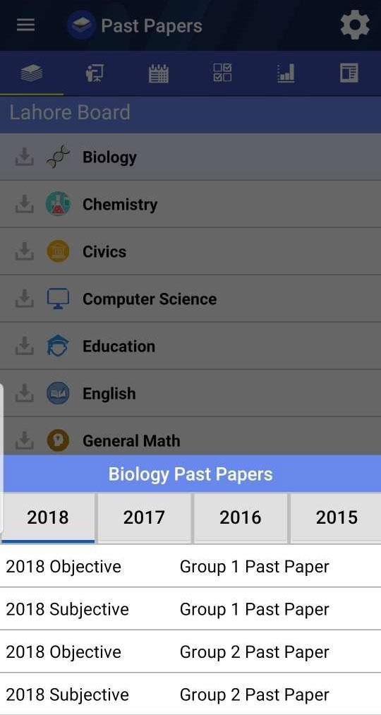 Past Papers for Android - APK Download