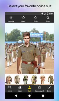 My Photo Police Suit Editor screenshot 1