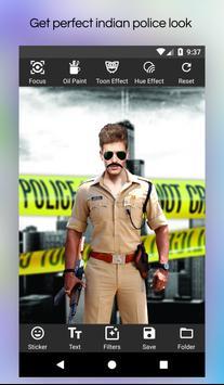 My Photo Police Suit Editor screenshot 4