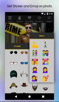 My Photo Police Suit Editor screenshot 5