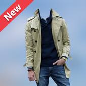 Men Winter Jacket Suit icon