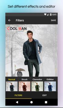 Men Winter Jacket Suit screenshot 6