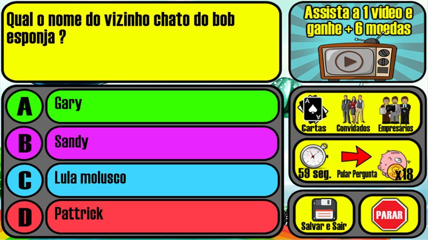 Jogo Infantil De Perguntas Do Milhao 2019 For Android Apk Download