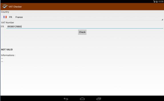 VAT Checker screenshot 6