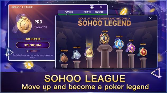 Sohoo Poker تصوير الشاشة 1