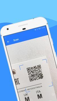 Scanner Code QR, Scanner Code Barre - WeScan Affiche
