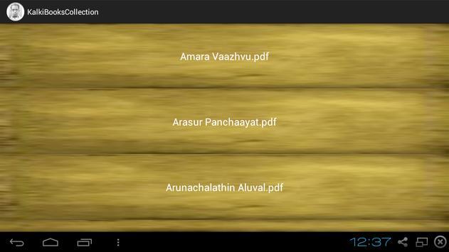 Kalki Tamil Books Collection screenshot 7