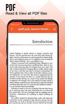 Document Reader : Documents Viewer - PDF Creator Ekran Görüntüsü 2