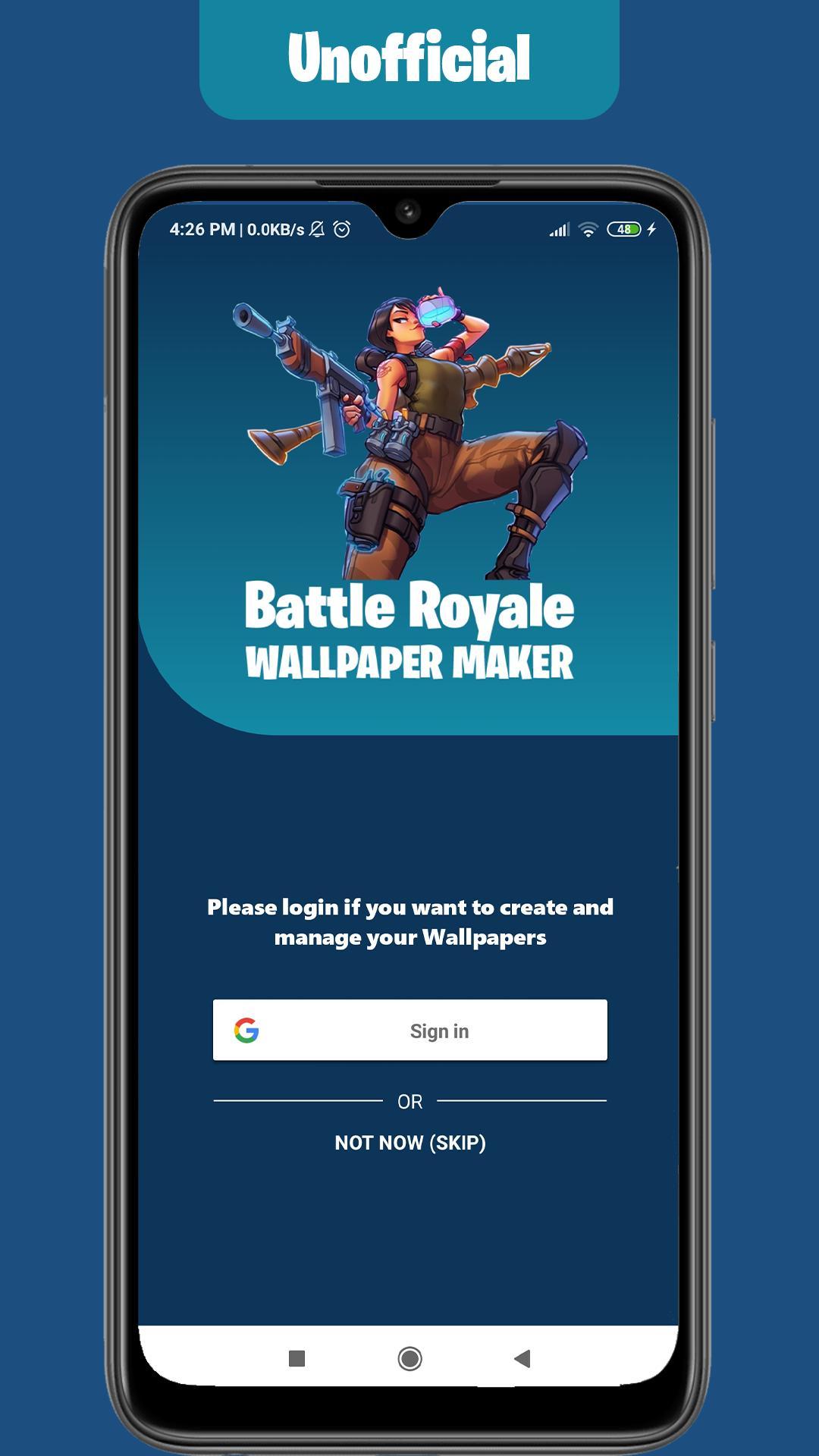 Wallpapers Maker for Battle Royale: All ...