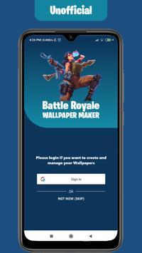 Wallpapers Maker for Battle Royale: All skins screenshot 1