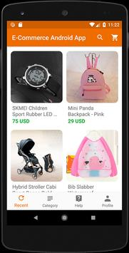 E-Commerce Android App screenshot 1