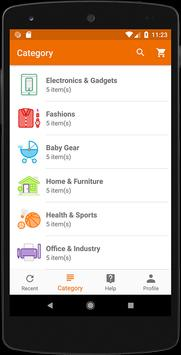E-Commerce Android App screenshot 2
