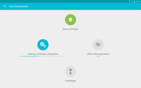 Learn SQL screenshot 7
