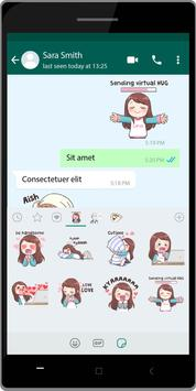 Korean Fans WA Sticker screenshot 3