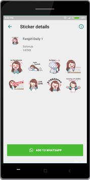 Korean Fans WA Sticker screenshot 1