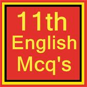 11th Class English Mcqs Test icon