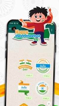 Independence Day Stickers screenshot 2