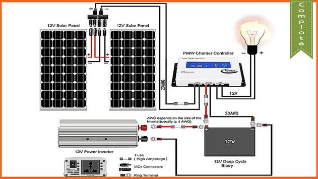 solar wiring diagram स्क्रीनशॉट 3