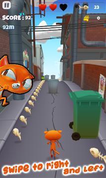 Fun Cat Race 3D Runner Game Free screenshot 3
