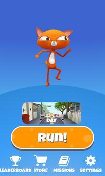 Fun Cat Race 3D Runner Game Free poster