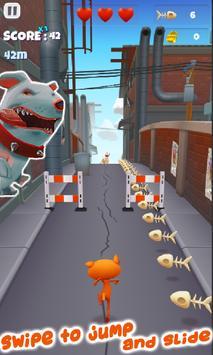 Fun Cat Race 3D Runner Game Free screenshot 1