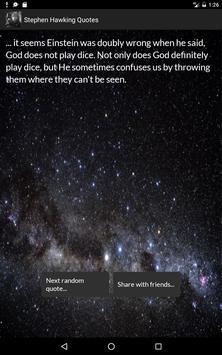 Stephen Hawking Quotes screenshot 5