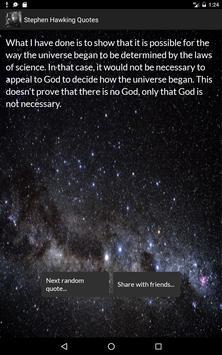 Stephen Hawking Quotes screenshot 6