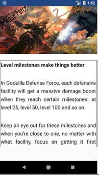 Tips and Hints for Godzilla Defense Force free screenshot 2