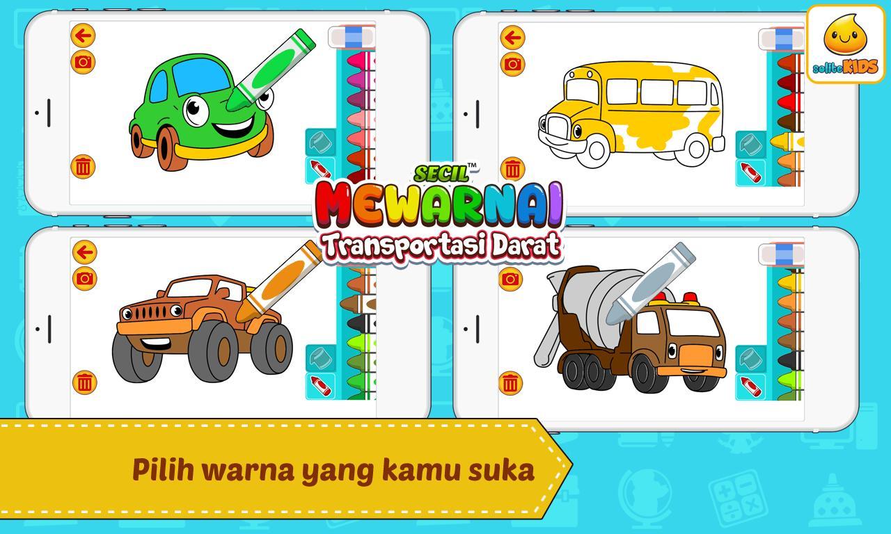 Mewarnai Mobil Kartun For Android Apk Download