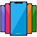 Einfarbige Tapete - Pure SolidColor Hintergrund