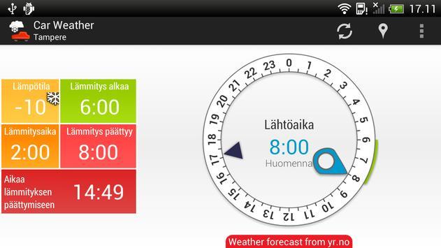 Car Weather screenshot 4