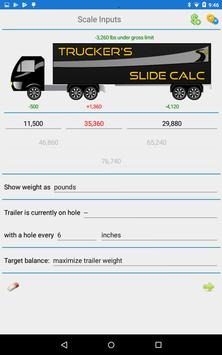 Trucker's Slide Calc تصوير الشاشة 7