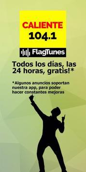Radio Caliente 104.1 FM by FlagTunes screenshot 1