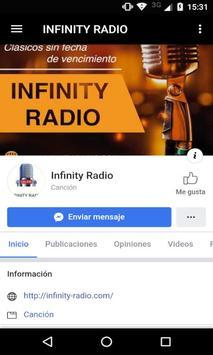 INFINITY RADIO screenshot 2