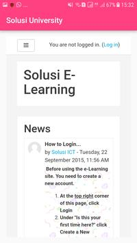 Solusi University screenshot 5