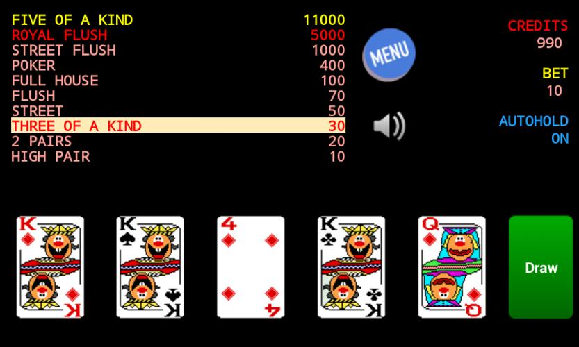jolly card poker games