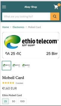 Abay-Shop (Ethiopian Shopping App) screenshot 1