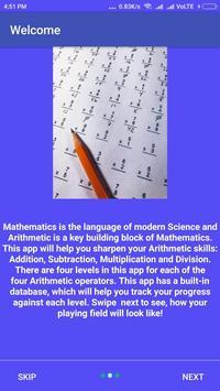 Maths Sharpener screenshot 1