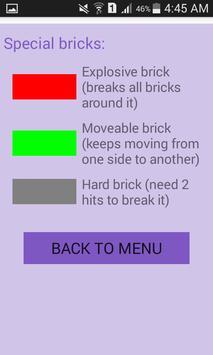 لعبة كسر الصخور screenshot 4