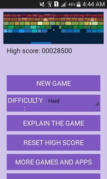 لعبة كسر الصخور screenshot 1