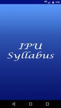 IPU Syllabus poster