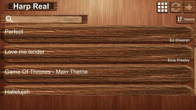 Harp Real screenshot 1