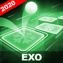 EXO Hop: Obsession KPOP Rush Tiles Hop Game 2020! APK Android