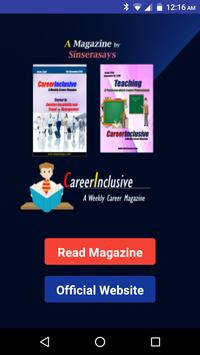 Career Inclusive : A Way Towards Success poster