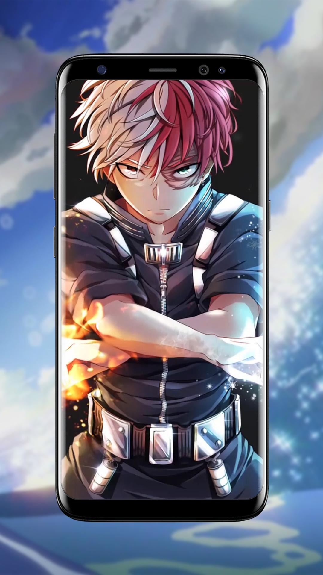 Shoto Todoroki Anime Live Wallpaper For Android Apk Download