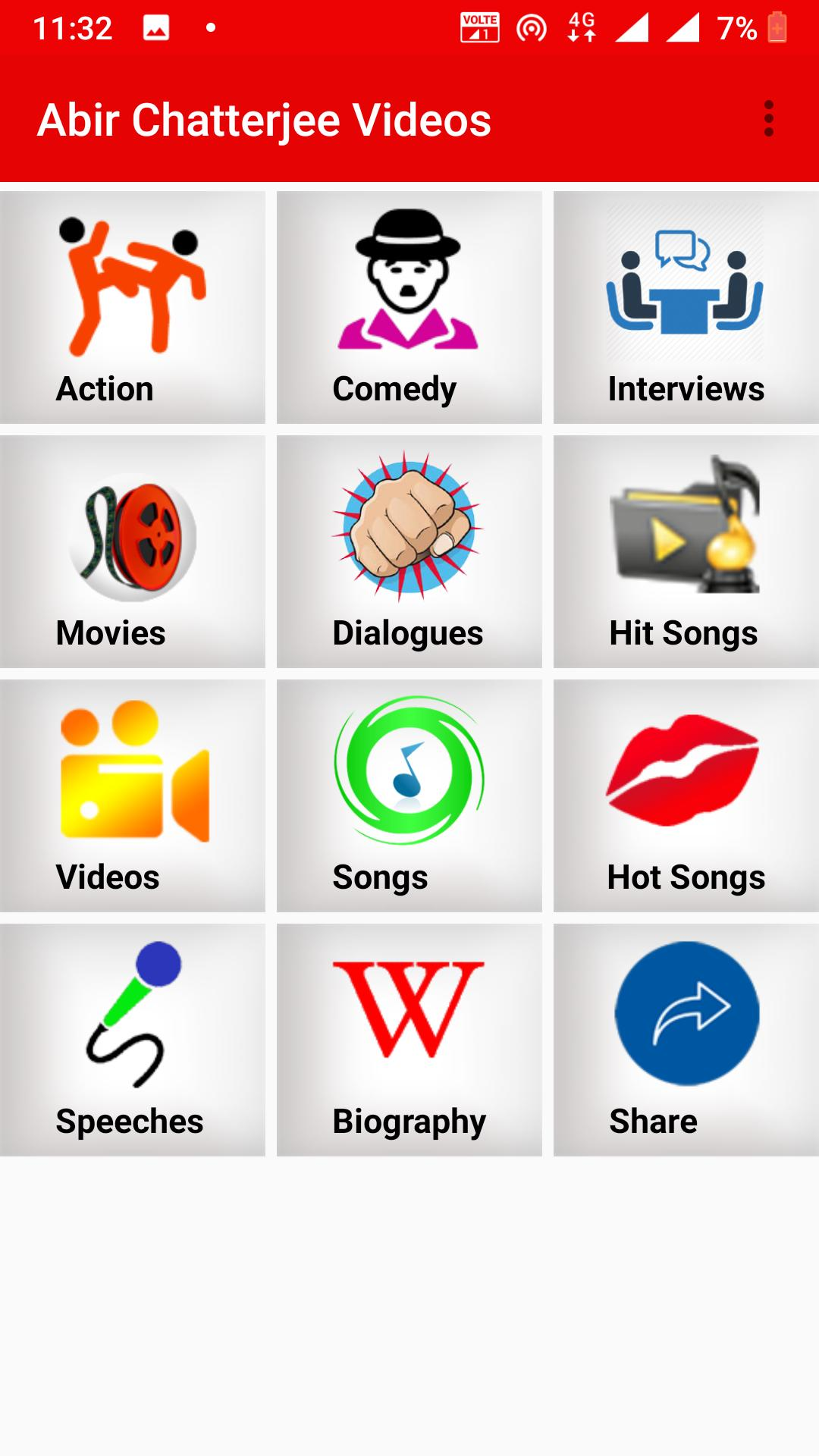 Abir Chatterjee - Songs, Videos,Movies for Android - APK
