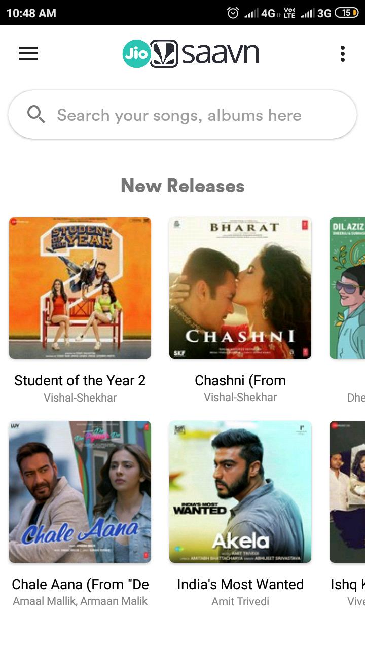 JioSaavn Free Song Download - Unlimited Music for Android