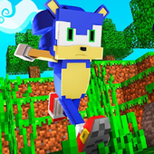 Sonic Parkour Mod Fast Adventure Map For MCPE icon