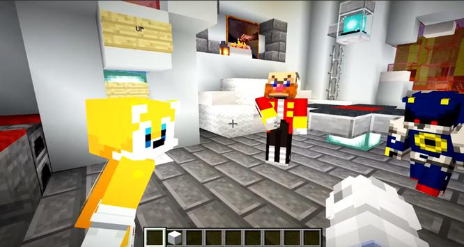 Sonic Parkour Mod Fast Adventure Map For MCPE screenshot 11