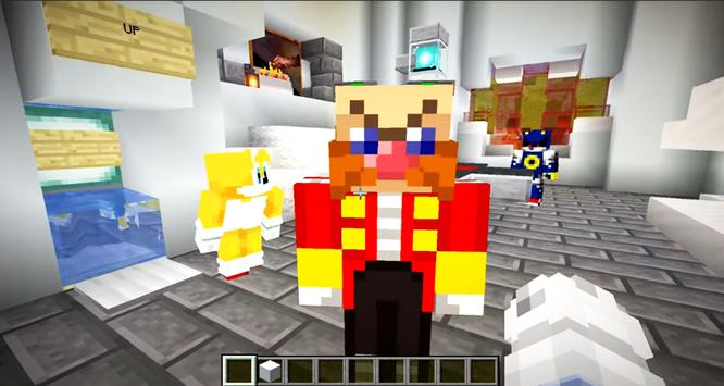 Sonic Parkour Mod Fast Adventure Map For MCPE screenshot 8